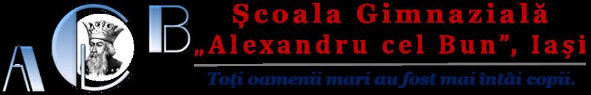 """Școala Gimnazială """"Alexandru cel Bun"""", Iași"""
